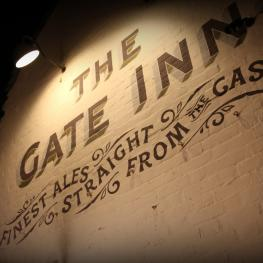 Gate Inn Boyden Gate Wall Sign